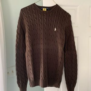 Ralph Lauren Sport Women's cable knit sweater